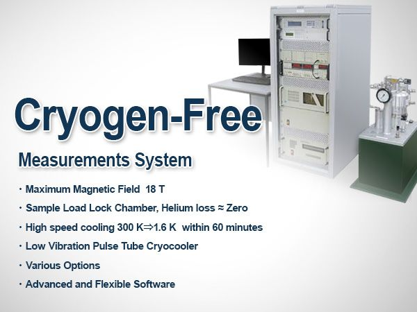 Cryogen-Free Measurements System