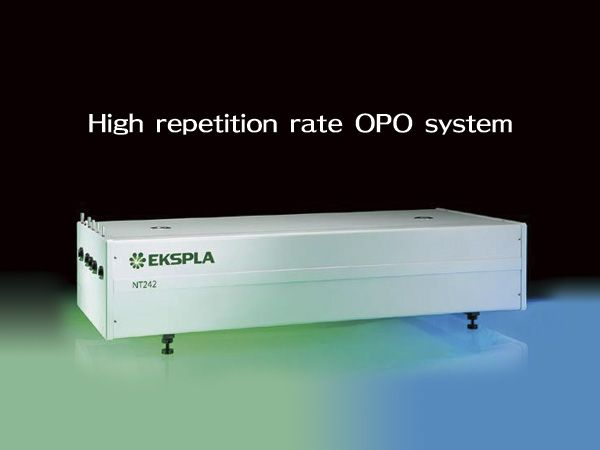 Tunable wavelength systems (OPOs)