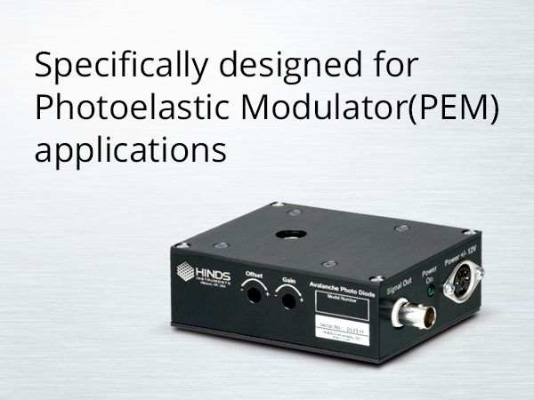 Avalanche Photodiode Photodetector Module